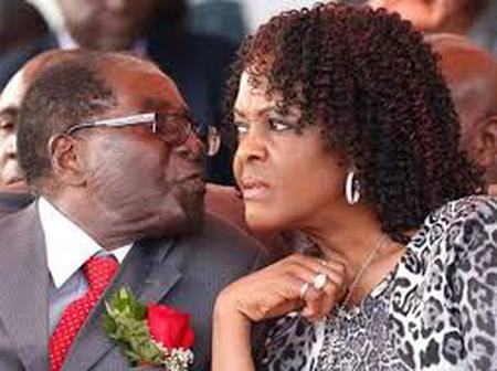 Drama at Robert Mugabe Airport as president and wife are blocked from boarding plane to Dubai
