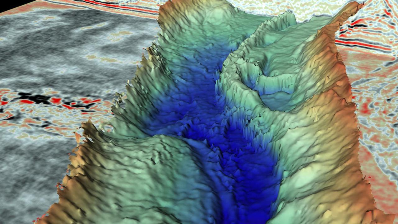 Gewaltige Urzeit-Canyons in der Nordsee helfen beim Blick in die Zukunft (GEOplus)