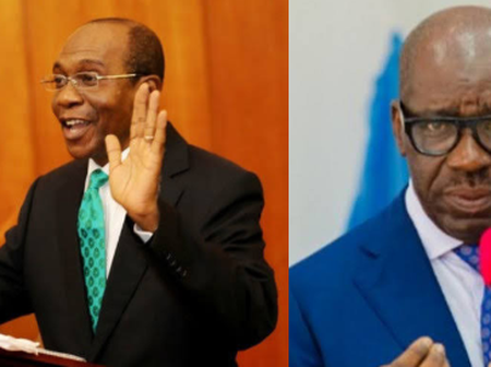 After Obaseki said the federal government printed and shared 60 billion naira, see what CBN said.