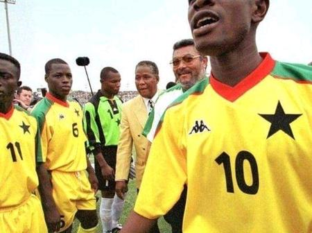 Rare Photos of Football-Loving JJ Rawlings pop up online