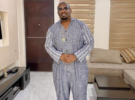 I can't wait to travel again, I feel like I have lost my British accent - Don Jazzy complains.