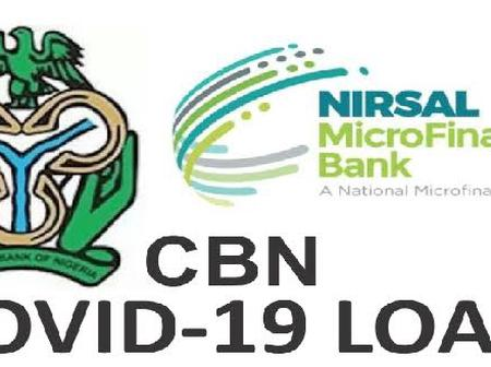 Update On CBN, Nirsal Loan, BVN Validations & Loan Disbursement