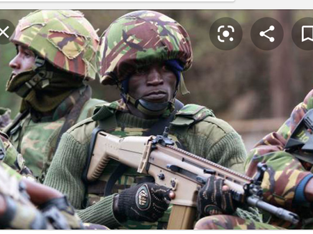 Somalia Says They Have Lost Confidence In KDF Fighting Al Shabaab