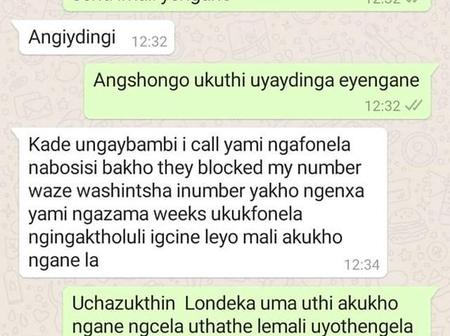 Painful WhatsApp conversation, hope young lady find healing