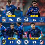 March Fixtures For Chelsea How Many Points and Goals Can They Get From Each Match
