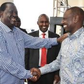 What Can Force Angry Raila Odinga to Back DP Ruto Revealed as Handshake Faces Acid Test
