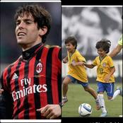 Kaka Is Blessed To Have Luca Celico As His Son