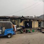 Fire Outbreak At Mcdermott Road, Delta state Reported
