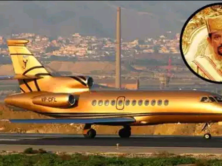 Meet The Only Man In The World Who Owns A Golden Plane And 7000 Cars.