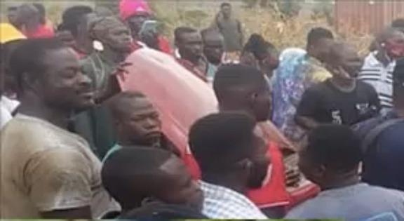 c8c2bd09aefbe12857d5350e4833dd80?quality=uhq&resize=720 - Popular Mobile Money Armed Robber Arrested And Beaten Mercilessly In Kasoa Ofankor