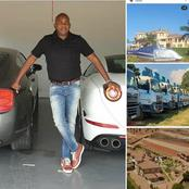 Meet the richest man in Limpopo Tzaneen who have Helicopters and expensive cars.