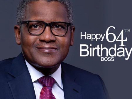 Buhari's Aide Congratulates Aliko Dangote on His 64th Birthday