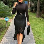 Checkout These beautiful black outfits that will make you stand out in any occasion