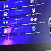 Champions League Quarterfinals and Semi-final Draws