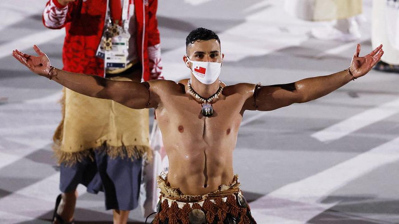 Tongas eingeölter Fahnenträger Pita Taufatofua sorgt für Schnappatmung!
