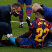 Latest report on Ansu Fati's injury