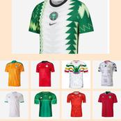 Which of these African countries have the best football Jersey