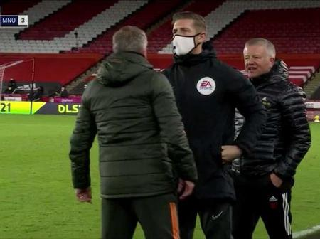 Ole Gunnar Solskjaer's heated spat with Chris Wilder proves Chris Smalling comments right