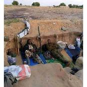 See Pictures Of Nigerian Soldiers At BattleField