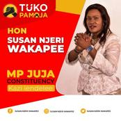Juja Counstituency Expecting Tough Competition Between George Koimburi and Susan Wakapee