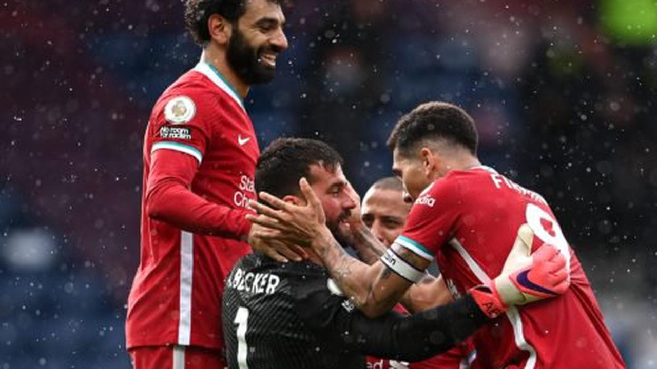 Liverpool remain in top-four contention after Alisson Becker's late winner