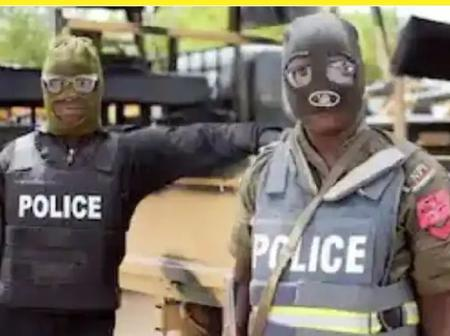 Police officers Arrest Immigration Officer, 6 Others Who Declared Cattle Rustling. Katsina.