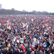 See A Protest That Won The Guinness World Records as Largest Protest in History [Throwback Photos]
