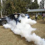 Nickson Korir's Tear Gas Kick Lights Up The Internet