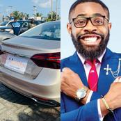 Photos: Reactions As Woli Arole Was Presented A Car During His Wedding