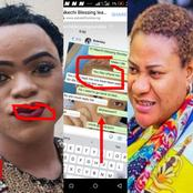Nkechi Blessing Sunday Shared Chat She Had With Bobrisky As The Pair Continue To Shade Each Other
