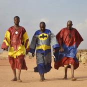Hilarious: Meet Africa's Spiderman, Superman And Iron Man