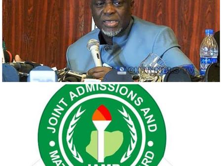 JAMB finally unveil the set of candidates who will not write post UTME and will be offered admission
