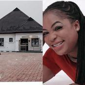 Good News: Popular Nollywood Actress Completes Her Building