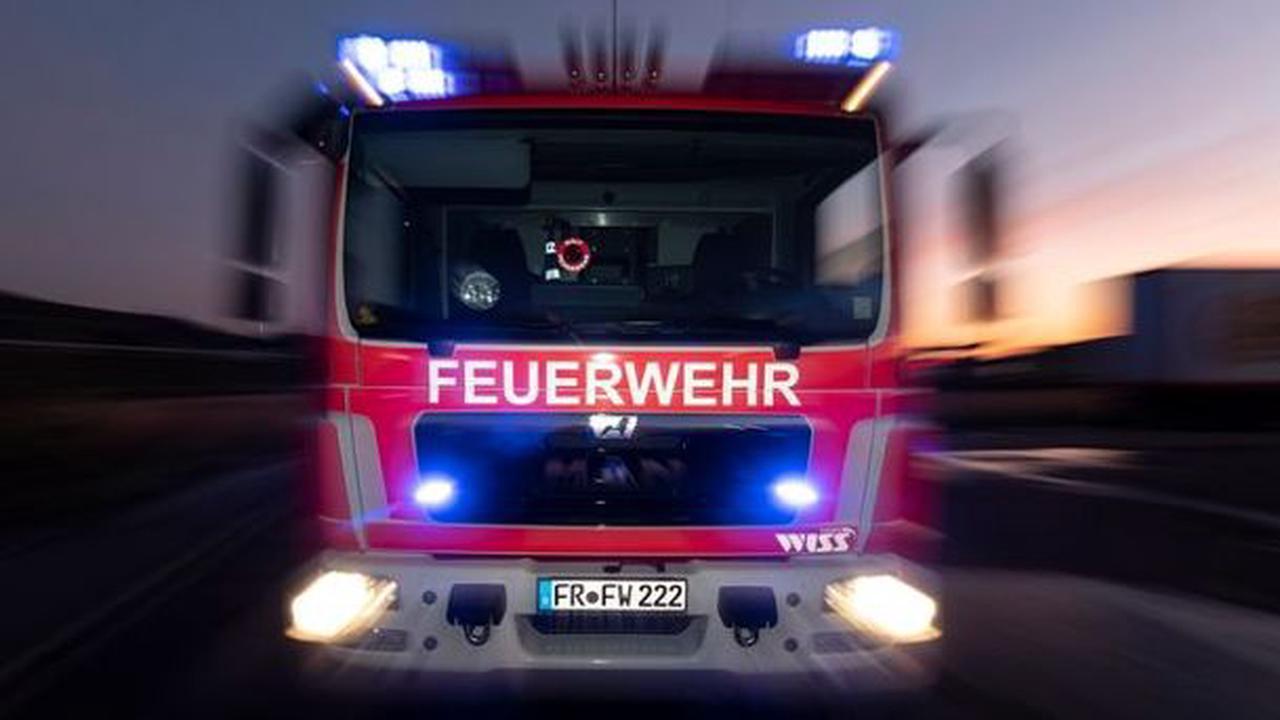 Unwetter zieht viele Feuerwehr-Einsätze nach sich
