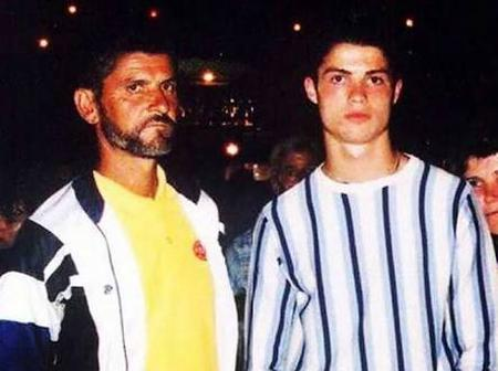See The Cute Fathers Of Some Famous Football Players (Photos)