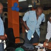 Highway Drama as Police Officers Arrest Their Colleagues Who Were Caught In The Act Doing This