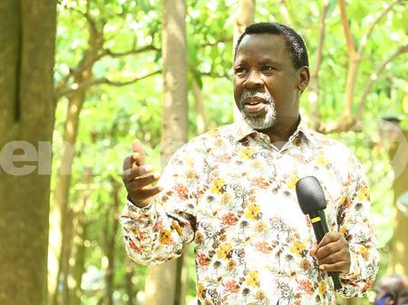 Prophet TB Joshua Clears Air Concerning The Current Situation Of The World, Check Out What He Says