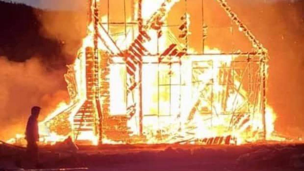 Kehewin Cree Nation church destroyed by fire, youth charged by RCMP