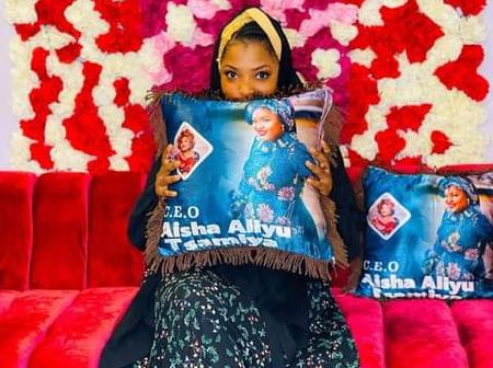 Congratulations as Kannywood Actress Aisha Tsamiya Becomes CEO