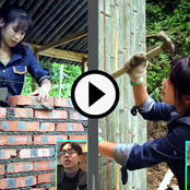Video: Hardworking Chinese Lady Construct A Wooding Fridge And Built A Complete House All By Herself