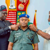 See how Governor Seyi Makinde Celebrated His Orderly (With Pictures)