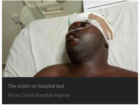 LASTMA Officer Hospitalised After Being Stabbed By Bus Driver