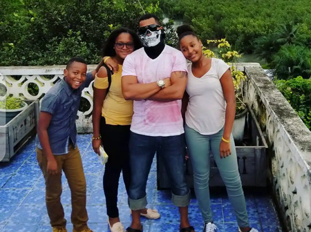 Van Vicker Has a Lovely Family - See Photos Of His Only Boy And Two Grown Up Girls