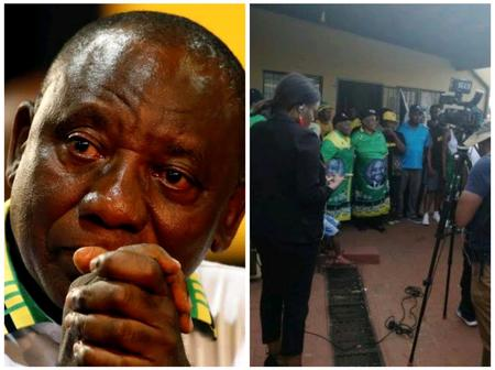 Soweto residents want to burn down President Ramaphosa parents house