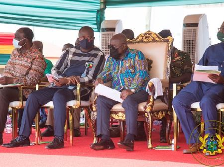 Good Governance: Akuffo-Addo opens a new Sixty-Bed District hospital. (See here)