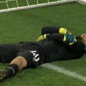 Moment A Turkish Goalkeeper Faked An Injury So That The Players Can Break Their Fast