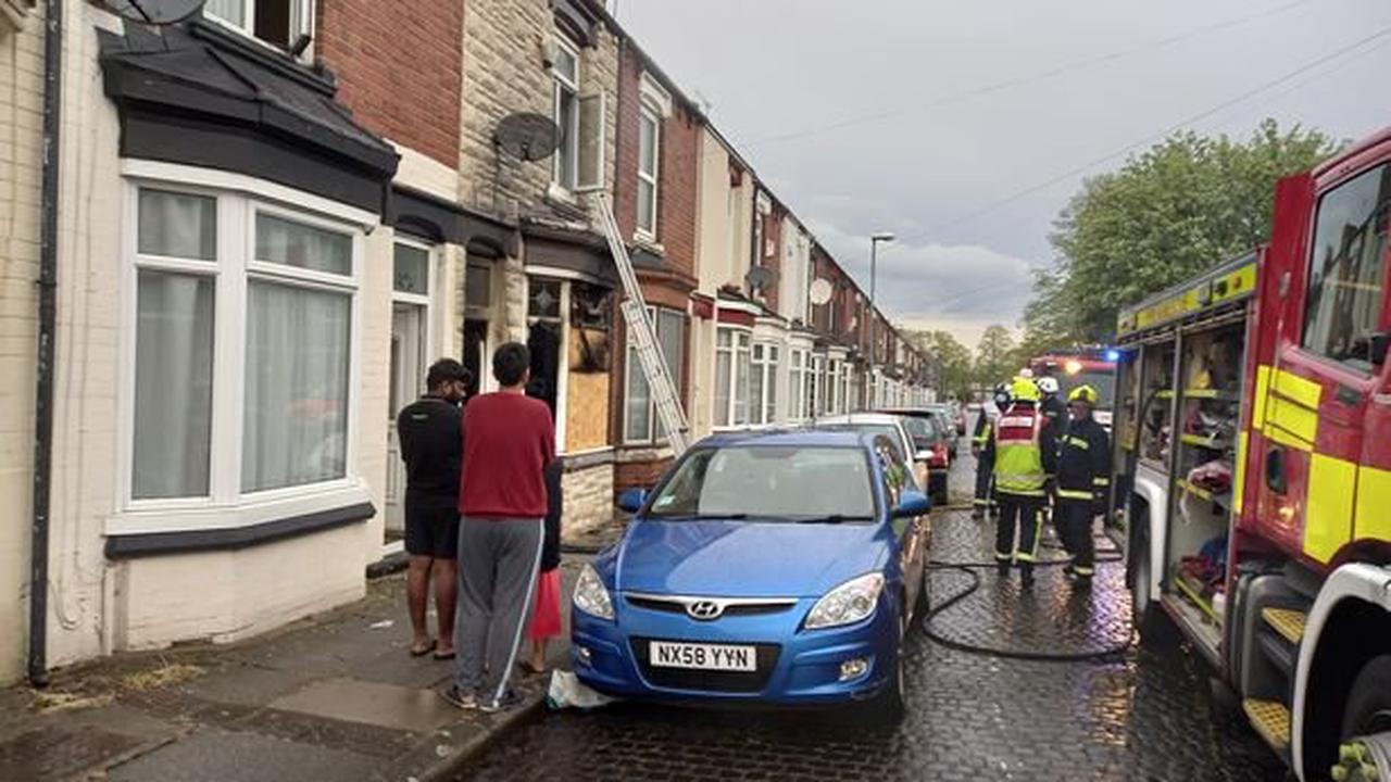 Investigation launched after house fire rips through Middlesbrough property