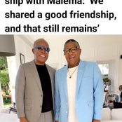Fikile Mbalula and Malema are best friends no matter they are political differences [opinion]