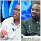 NDC Communicator fights Prof. Vladimir Antwi on UTV