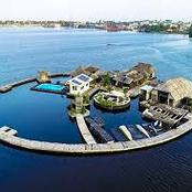 Un paradis à Abidjan : voici l'île flottante en image